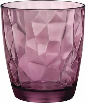 Bormioli Rocco Diamond Trinkglas 30cl violett