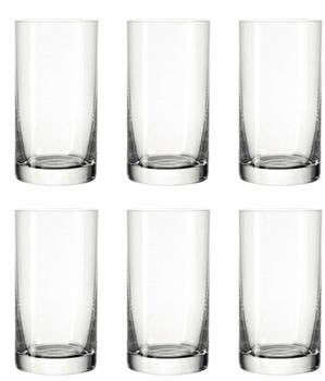Leonardo Easy+ Wasserglas 260 ml 6er Set