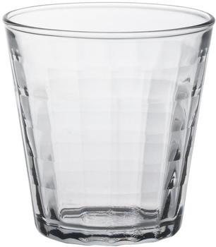 Duralex Prisme Trinkglas 22 cl klar 6er Set