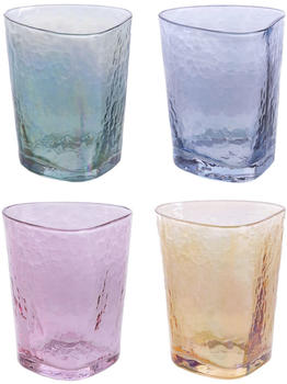 Best Of Home Gläser-Set 4-tlg Rainbow