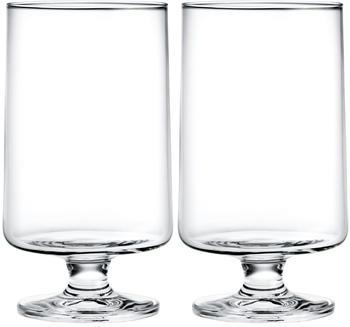 Holmegaard Stub Glas Groß 36 cl 2er-Set