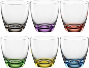 Bohemia Cristal Viva Colori Glas 6-tlg