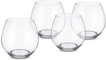 Villeroy & Boch Wasserglas 4 Stück Entrée klar