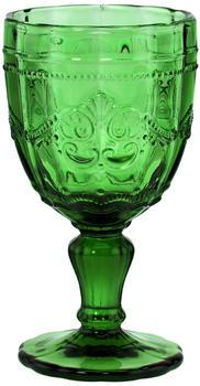 butlers-victorian-6x-trinkglas-mit-stiel-230ml-dunkelgruen