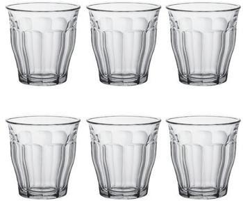Duralex Wasserglas Picardie 25 cl 6er Glas