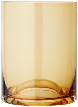 Blomus WAVE Trinkglas 2er Set - dull gold - 2 Gläser à 300 ml