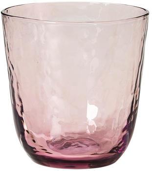 broste-copenhagen-hammered-trinkglas-33-5cl-lila
