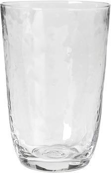 broste-copenhagen-hammered-trinkglas-50cl-klar