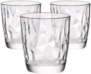 Bormioli Rocco Diamond Wasserglas (3 Stk.)