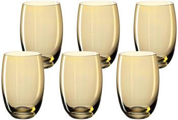 Leonardo Lucente Trinkglas amber gelb 320ml 6er Set