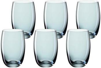 Leonardo Lucente Trinkglas blau 320ml 6er Set