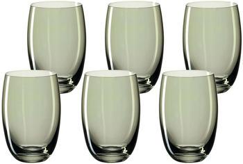 Leonardo Lucente Trinkglas grün 320ml 6er Set