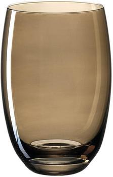 Leonardo Lucente Trinkglas braun 320ml 061779