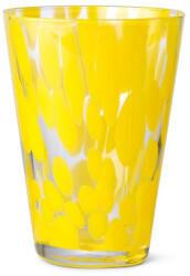 Ferm Living Casca Glas - gelb - 8x11x9 cm