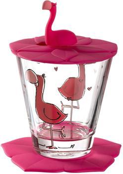 Leonardo Kinder-Trinkset Bambini 3-teilig rose