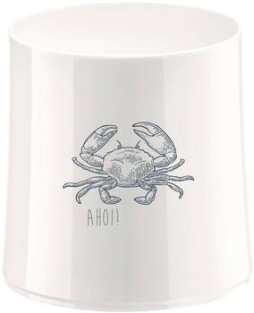 Koziol Cheers No. 2 Ahoi 2 Glas mit Druck, Cocktailglas, Baumwolle White, 250 ml, 3410525