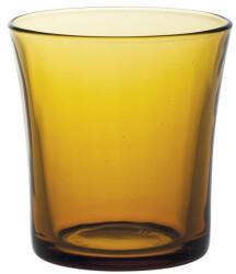 Duralex 1010DC04A0111 Lys Vermeil Trinkglas 160ml, Glas, bernstein, 4 Stück