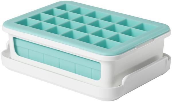 OXO Eiswürfelform weiß/türkis