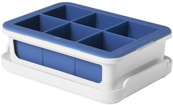 OXO Eiswürfelform extra groß blau