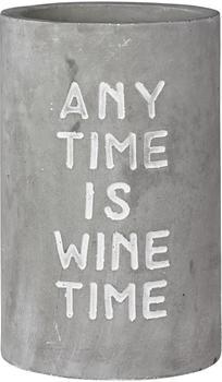 Räder Poesie et Table Vino Weinkühler Any Time is Wine Time