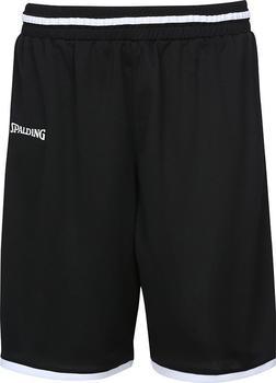 Spalding Move Shorts schwarz/weiß