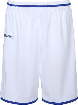 Spalding Move Shorts Kinder weiß/royal