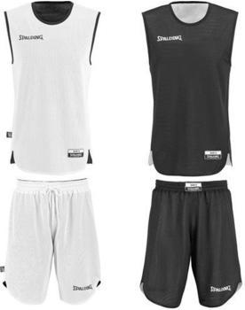 Spalding Double Face Kid Set Basketball white/black