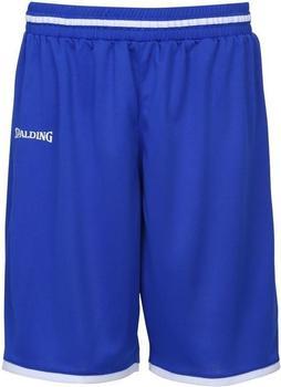 Spalding Move Shorts Kinder royal/weiß