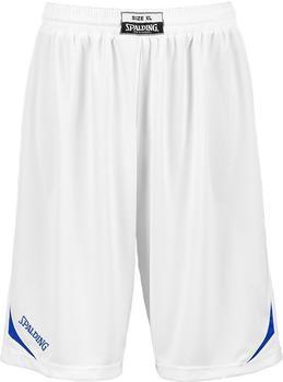 Spalding Attack Shorts white/royal
