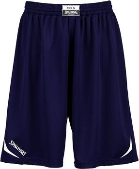 Spalding Attack Shorts marine/white