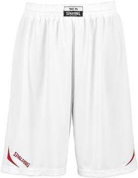 Spalding Attack Shorts white/red