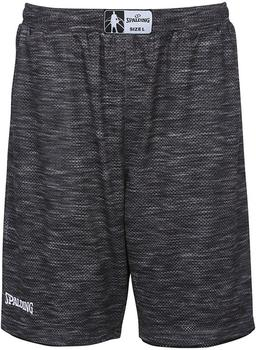 Spalding Street Reversible Shorts grey melange/black