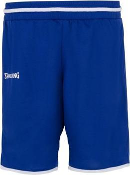 Spalding Move Shorts Damen royal/weiß