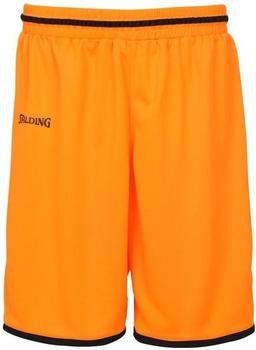 Spalding Move Shorts dark orange/schwarz