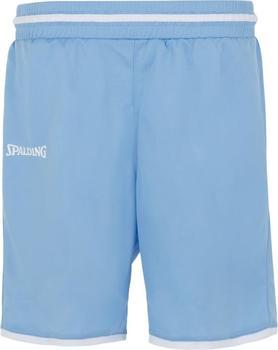 Spalding Move Shorts Damen skyblau/weiß