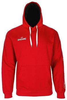 Spalding Team II Hoodie red (300208505)