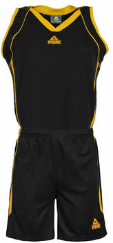 Peak Trikot Set Women Team black/yellow (F771102-20090)