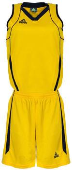 Peak Trikot Set Women Team yellow/black (F771102-20091)