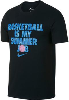 Nike Dri-FIT Basketball T-Shirt black/black (923723-010)