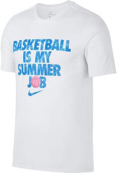 Nike Dri-FIT Basketball T-Shirt white (923723-100)