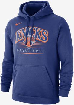 Nike New York Knicks Hoodie rush blue/rush blue