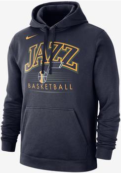 Nike Utah Jazz Hoodie college navy/college navy