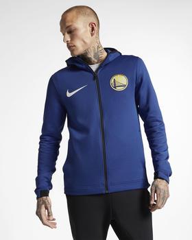 Nike Golden State Warriors Therma Flex Hoodie rush blue/black/white