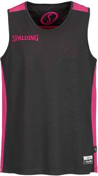 Spalding Essential Reversible Shirt Kids black/pink (300201407)