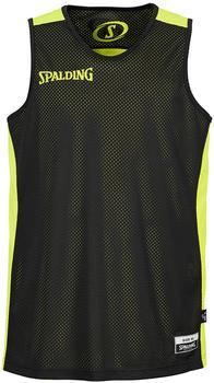 Spalding Essential Reversible Shirt Kids black/yellow (300201406)