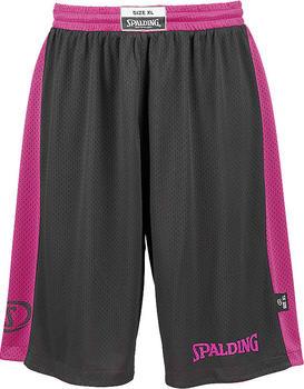 Spalding Essential Reversible Shorts Kids black/pink