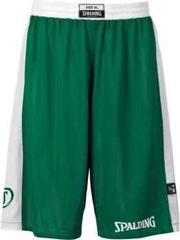 Spalding Essential Reversible Shorts Kids green/white
