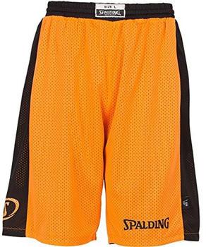 Spalding Essential Reversible Shorts Kids orange/black