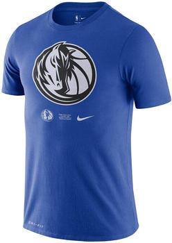 Nike Dallas Mavericks Logo T-Shirt (CK8367-480) blue
