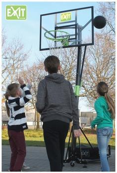 Exit Toys Galaxy Portable Basketballkorb mit Dunkring